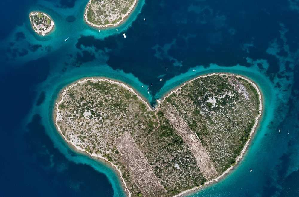 Galesnjak adası, Hırvatistan.
