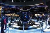 Bell Nexus, 560 km mesafeyi 1 saatte kat ediyor. Hibrit motordan gücünü alan araç, 5 kişilik kapasiteye sahip. Ürün henüz prototip aşamasında.
