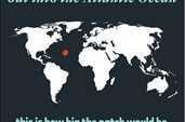 7,2 trilyon plastik poşeti Atlantik Okyanusunda yüzdürmüş olsaydık (halihazırda yüzenler hariç) , Okyanus üzerinde Texas eyaleti büyüklüğünde bir nokt...