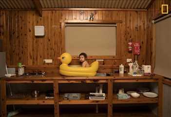 İnsanlar. İkincilik ödülü. Todd Kennedy, Avustralya. Seyehat arası serinleme molası.