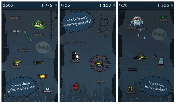 Doodle Jump Dc Super Heroes Windows Phonea Geldi