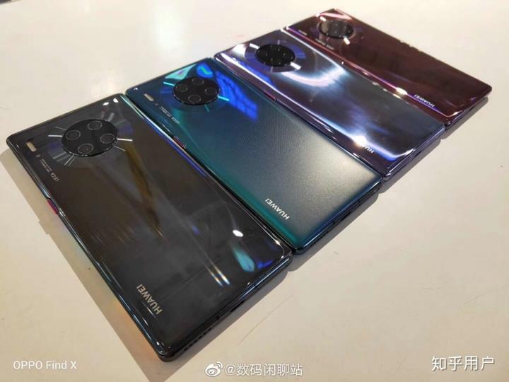 Huawei Mate 30 serisinin yeni fotoğrafları ortaya çıktı