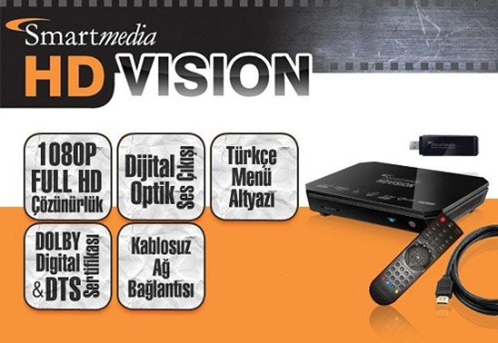 Smartmedia HD Vision medya oynatıcı inceleme masamızda