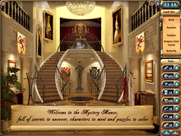 Mystery Manor: Hidden Adventure ile bulmacalarla dolu bir macera sizi bekliyor