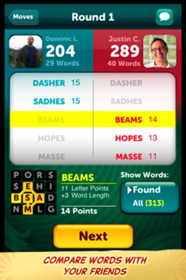 Scramble with Friends ile arkadaşlarınızla kelime bulma yarışına girin