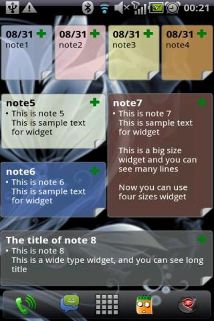 Android için OnePunch Notes ile notlarınıza ulaşmak çok kolay
