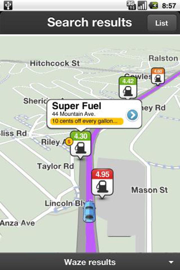 Waze navigasyon uygulaması, sürücü tecrübelerini biraraya getiriyor