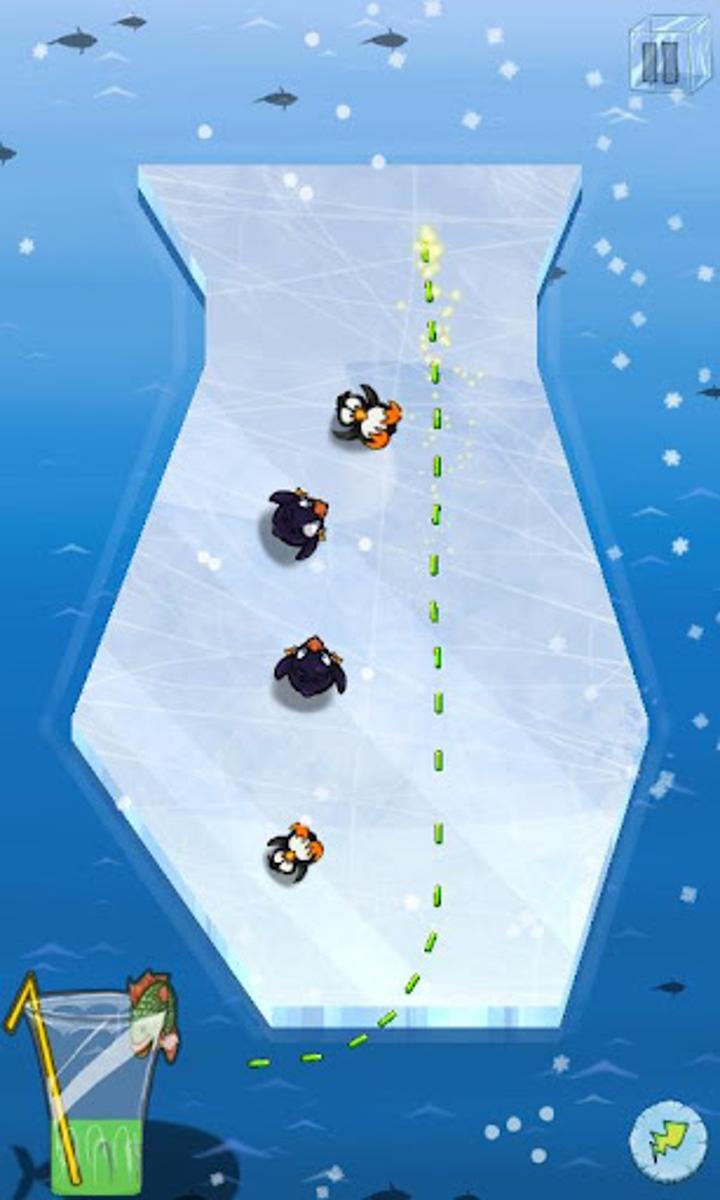 Slice Ice! ile penguenlerinize su sağlayın