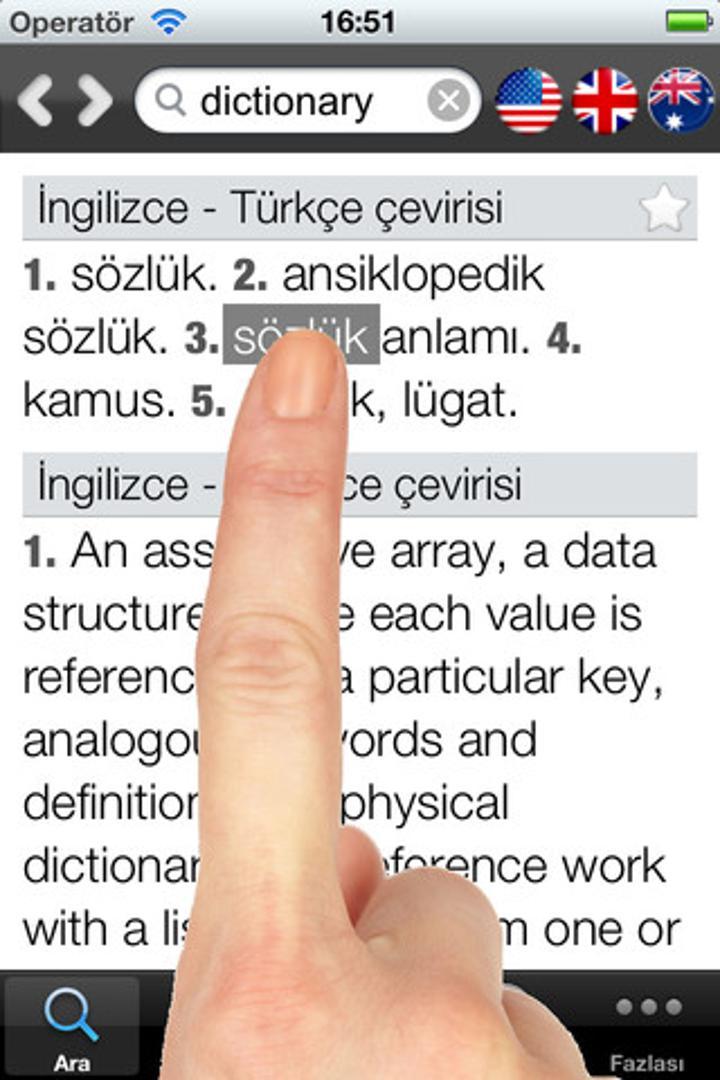 Sesli Sözlük önemli avantajlarını mobil platformlara da getiriyor