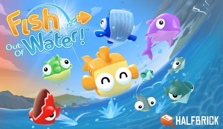Halfbrick'in yeni yapımı Fish Out of Water!, Appstore'daki yerini aldı