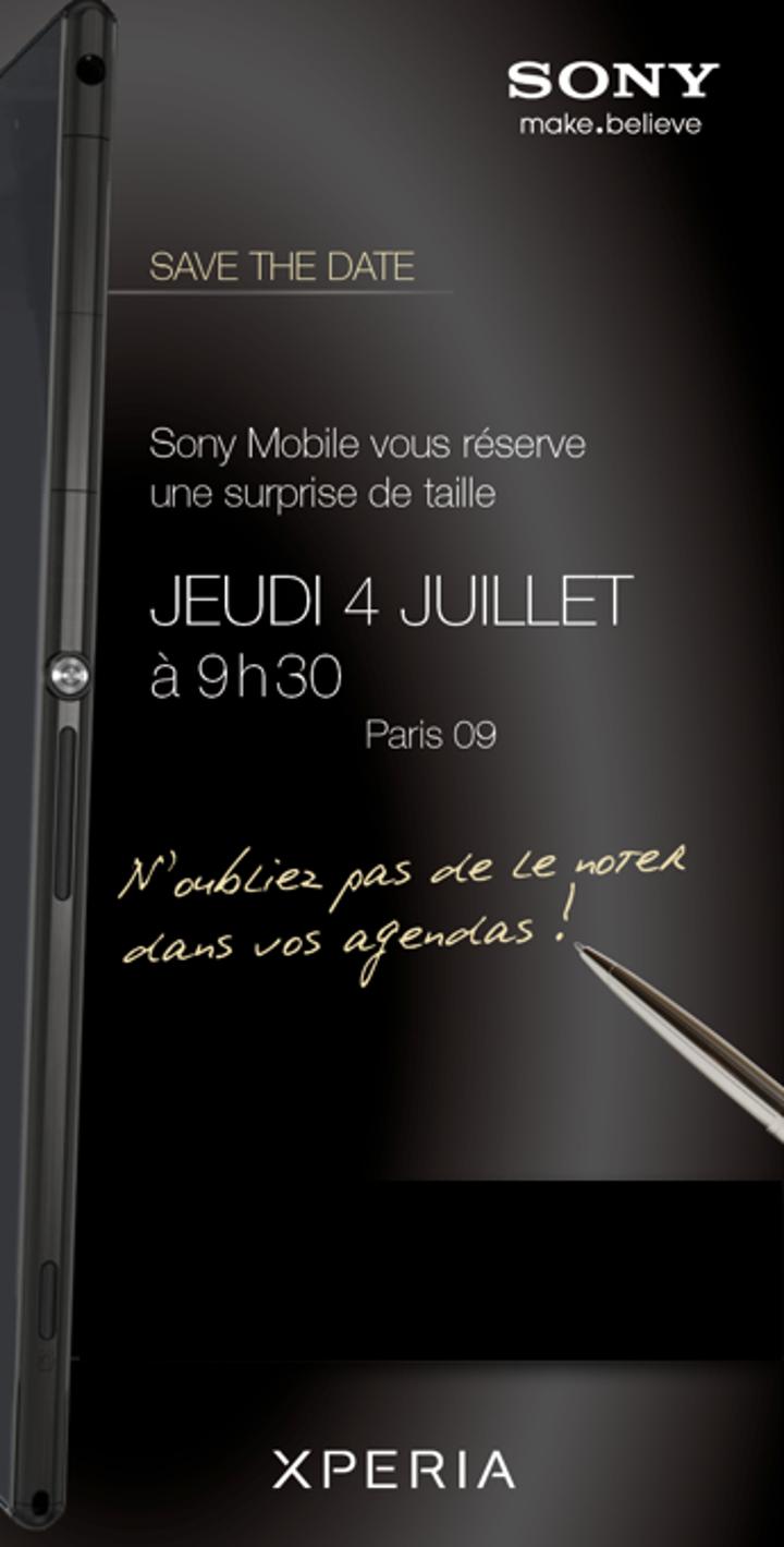 Sony, Xperia Z Ultra'nın 4 Temmuz tarihli tanıtım etkinliği için davetiye dağıtımına başladı