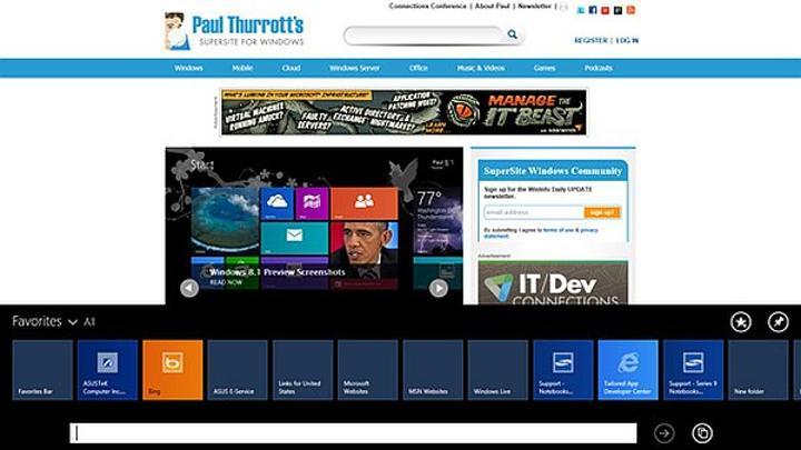 Microsoft BUILD: Internet Explorer 11, Windows 7 de geliyor