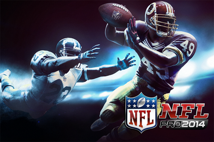 NFL Pro 2014 mobil oyuncuların beğenisine sunuldu