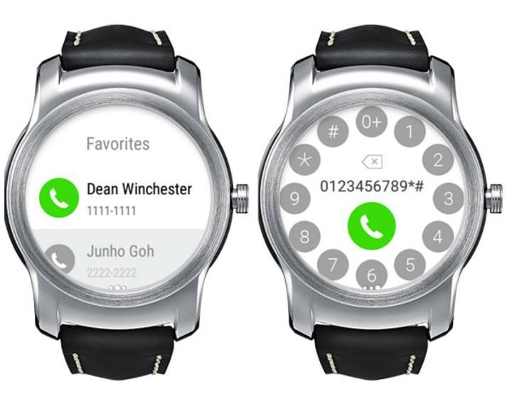 LG Call ile doğrudan akıllı saatinizden arama başlatın