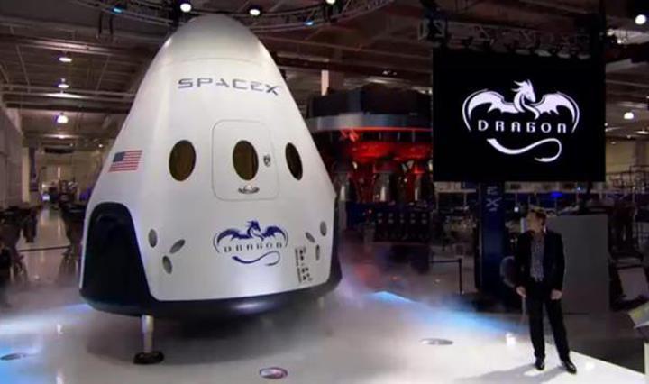 SpaceX'in Dragon kapsülü ilk kez insanlı uçuş testi gerçekleştirecek