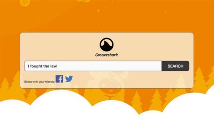 Gizemli bir grup Grooveshark'ı yeniden açtı