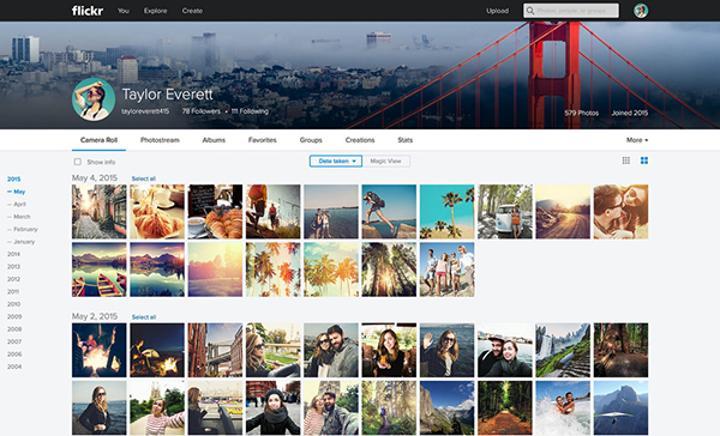 Flickr'ın tasarımı yenilendi