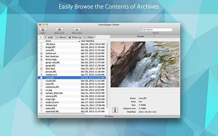 Mac uyumlu SmartZipper Viewer artık ücretsiz