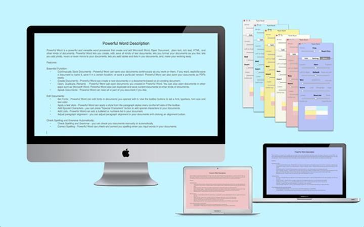 Mac uyumlu airWord Pro kısa bir süre için ücretsiz