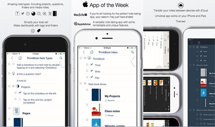 iOS uyumlu ThinkBook uygulaması güncellendi