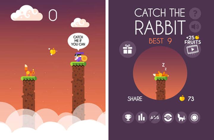 Catch the Rabbit ile tersine sonsuz koşu