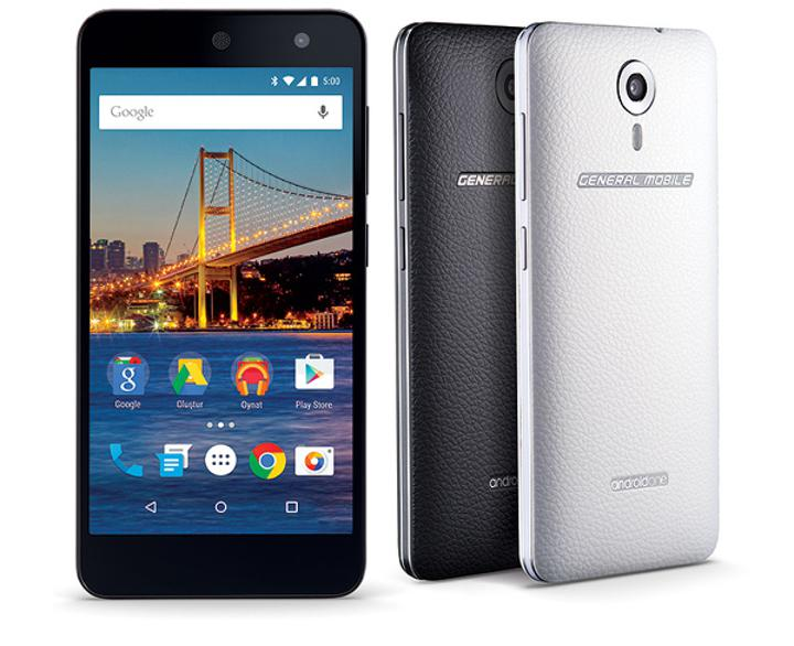 Android One ülkemize geliyor