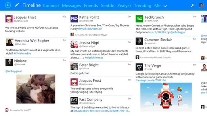 Windows Phone ve Windows uyumlu Twitter istemcisi Tweetium güncellendi