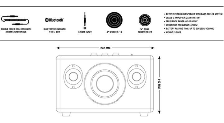 Marshall'dan tasarımıyla dikkat çeken kablosuz hoparlör: Kilburn