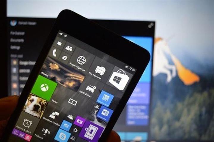 Windows 10 Mobil versiyonuna ait yeni teknik ön izleme sürümü yayınlandı