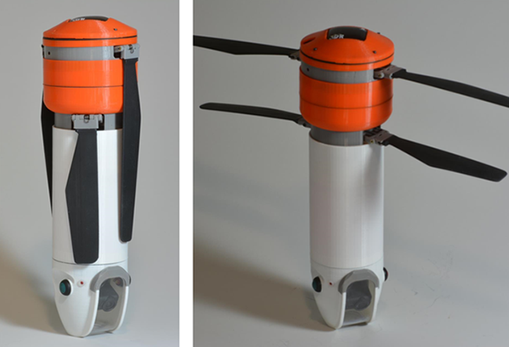Tasarımıyla farklılaşan insansız hava aracı Sprite, Kickstarter'da hızlı bir başlangıç yaptı