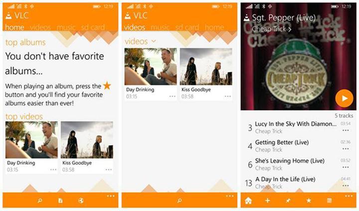 Windows Phone için VLC 1 milyon sınırını geçti