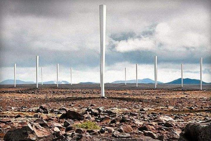 Pervanesiz rüzgar türbini Vortex, büyük avantajlar vaat ediyor