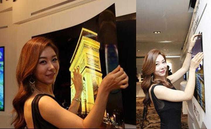 LG'den duvara mıknatıs temelinde takılabilen süper ince OLED TV