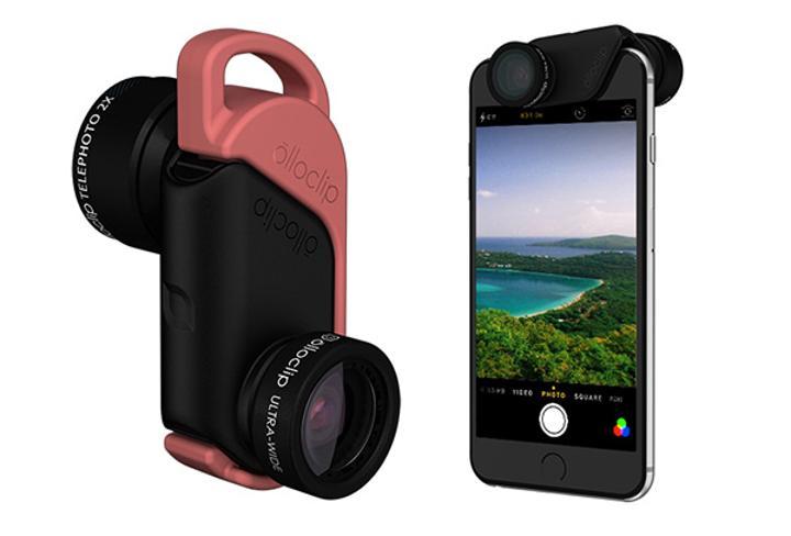 Olloclip'den iPhone 6 ile iPhone 6+ için