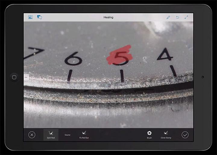 Adobe, Photoshop Touch'ın gelişimini durdurarak Project Rigel'i görücüye çıkarttı