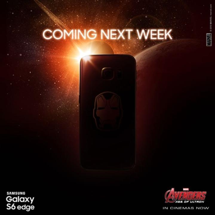 Iron Man temalı Galaxy S6 Edge modeli önümüzdeki hafta duyurulacak