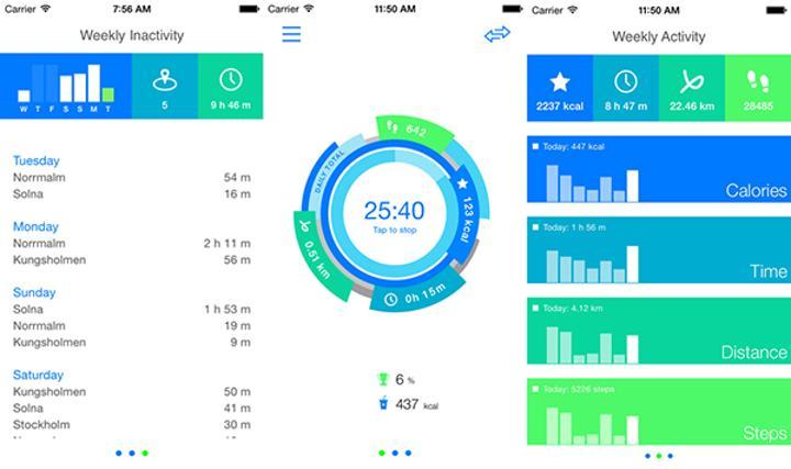 iOS uyumlu aktivite takip uygulaması Get Moving ücretsiz yapıldı
