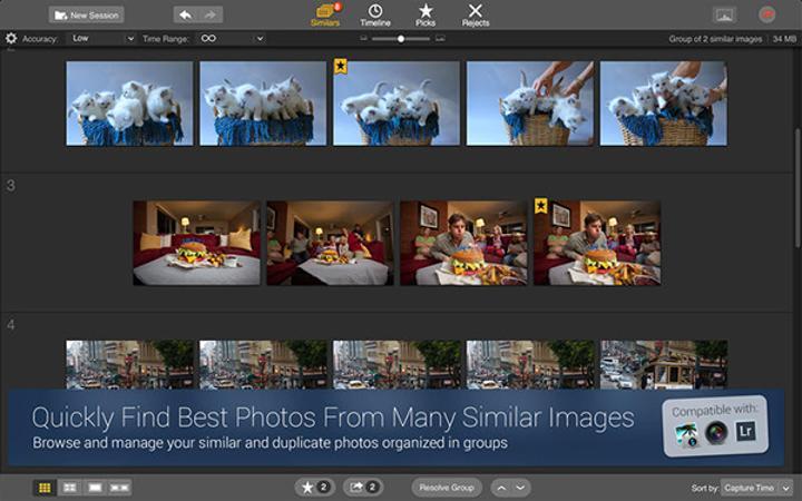 Fotoğraf odaklı Mac uygulaması Snapselect yeniden ücretsiz yapıldı