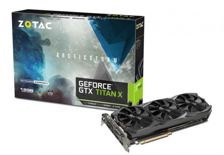 Zotac'dan özelleştirilmiş soğutma sistemli GeForce GTX Titan X Arctic Storm