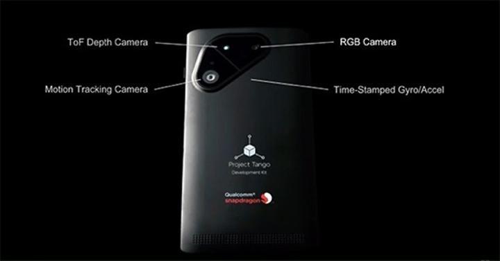 Google ve Qualcomm 3D tarama yapabilen akıllı telefon hazırlıyor