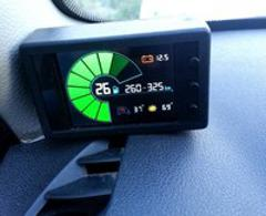 Lpgmeter Dijital Renkli Ekranli Lpgdepo Seviye Gostergesi