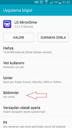 Mirrorlink'e istediğiniz uygulamayı yansıtıp kullanma imkanı » Sayfa