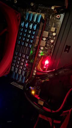 Asus crosshair v formula anakart CPU LED hatası » Sayfa 1 - 1