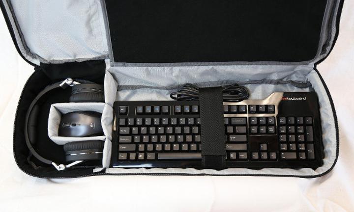 Das Keyboard'dan oyunculara yönelik klavye taşıma çantası
