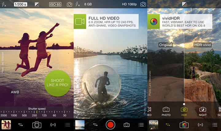 iOS için ProCamera 8 büyük bir güncelleme aldı