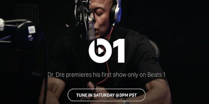 Dr. Dre, Beats 1 için radyo programına başlıyor