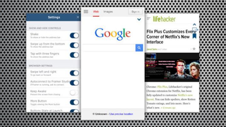 Tam ekran deneyim sunan iOS uyumlu yeni tarayıcı uygulaması: Browsy