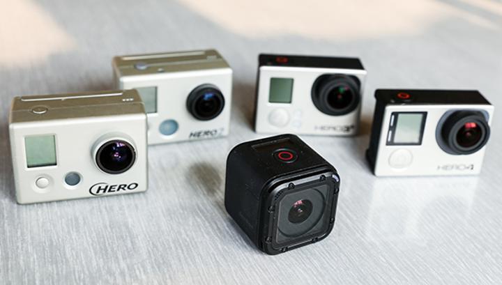 GoPro'dan kompakt boyutlarıyla dikkat çeken yeni aksiyon kamerası: Hero4 Session