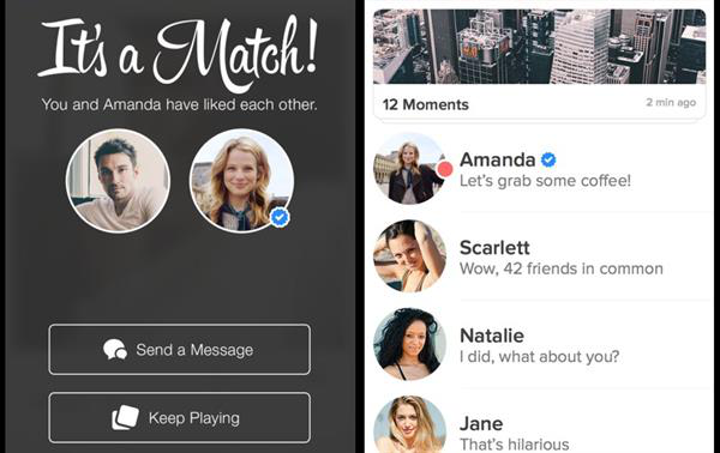 Onaylanmış profiller bu kez Tinder'a ekleniyor
