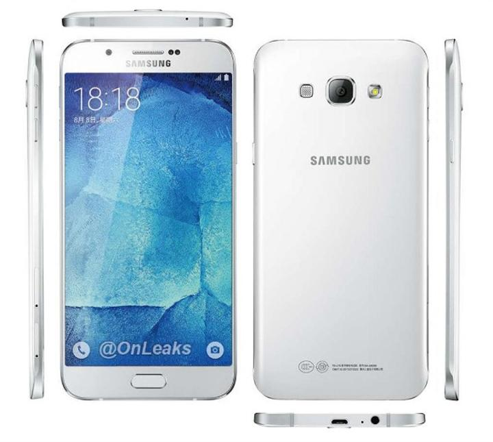 Galaxy A8'in son sızıntılarıyla birlikte fiyatı da ortaya çıktı